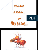 Every Day, A Small Ant Arrives at Work Very Early