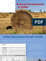 Agriculture & Rural Development in India_Group 7