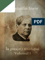 In Preajma Revolutiei Volumul I. Prolog. Smaragda Theodorovna de Constantin Stere