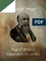Pagini Despre Basarabia De Astazi de Nicolae Iorga