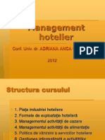 Management Hotelier Studenti
