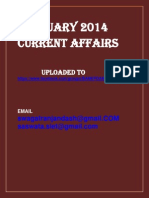 February 2014 Current Affairs