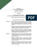 PMPNRI_28_2007_OTK Balai Pengembangan Pendidikan Nonformal & Informal