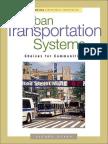 Urban Transportation Systems