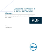 Imaging a Latitude 10 With ConfigMgr 2012