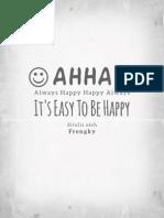 It's Easy to Be Happy