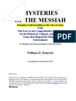 Mysteries of the Messiah Preview