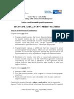 UWCO 2008 SYP Requirements