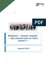 Rapport Enquête Génération Y - Février 2014