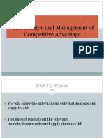 Lec 3 Competitive Advantage