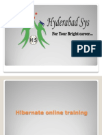 Hibernate online training | online Hibernate training in 