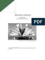MatematicaLetteratura