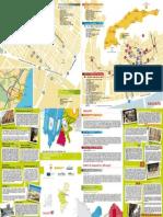 Mappa del centro storico di Sagunto