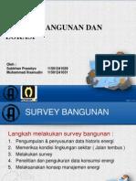 Survey bangunan dan lokasi dalam manajemen energi