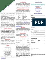 Brochure NCACSE 2014