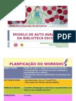 FERNANDA ROCHA MODELO DE AUTO AVALIAÇÃO DA BIBLIOTECA ESCOLAR