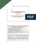 Tecnologie Delle Materie Plastiche e Dei Compositi_Lezione_1