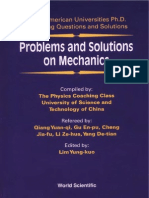 Problems and Solutions on Mechanics Major American Universities Ph.D Qualifying Questions and Solutions World Scientific
