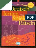 Deutsch lernen mit Spielen und Ratseln