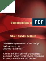 Complications of Diabetes 4231