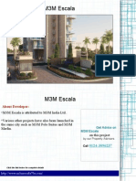 M3M Escala Gurgaon