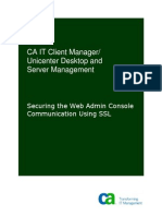 CA ITCM Securing the Web Admin Console Using SSL ENU