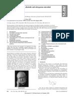 Alkaloid Biosynthesis
