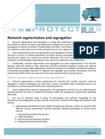 Network Segmentation Segregation