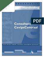Handleiding Consultatietool C-Centraal