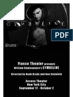 Master Copy Fiasco 2009 Cymbeline Program-3