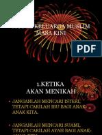 Model Keluarga Muslim Masa Kini2