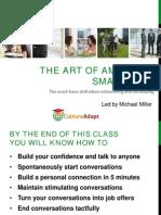 The Art of American Small Talk