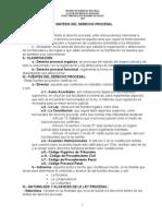 Sintesis Derecho Procesal- Jbm