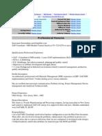 Sap Pp Resume1