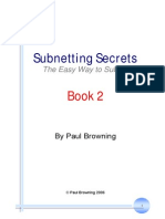 Subnetting Secrets Book 2