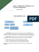 A Lógica da Harmonia – Organização e Definição de seus Conceitos Fundamentais - Parcial
