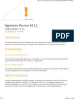 Application Pools on IIS 6.0 - CodeProject
