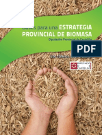 Estrategia provincial Biomasa