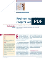 Régimen Legal Del Project Manager - Benavides Grases y García