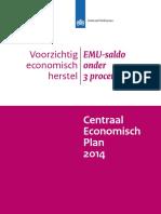 Centraal Economisch Plan 2014