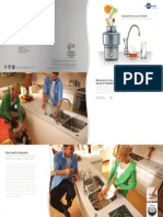 Innovation in your kitchen - Food waste disposers and Steaming hot water taps