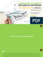 Diploma in Car Design 2014_Brochure