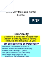Personality Traits and Mental Disorder_psikosomatik_untad_2012