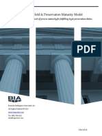 BIA Legal Hold and Preservation Maturity Model