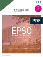 Prioritizing and Organizing Tests - EU EPSO