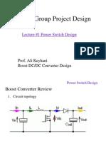 682Q Boost Converter Lecture 1