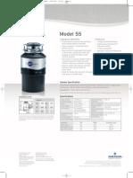 InSinkErator Model 55 Food Waste Disposer
