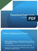 theoretical framework 2 - planned happenstance
