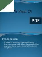 PPh Pasal 25 Fix