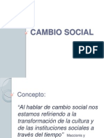 Unidad 6 Cambio Social1